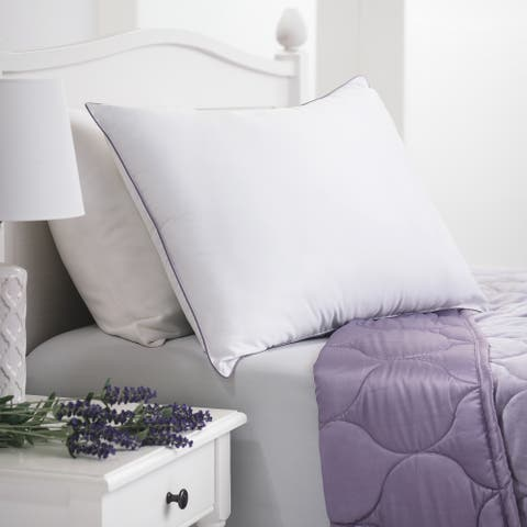 Porch & Den Althea White Down Alternative Lavender Scented Aromatherapy Pillow