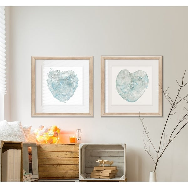 Heart Tree  -2 Piece Set - 16 x 16