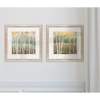 Nature's Palette -2 Piece Set - 16 x 16