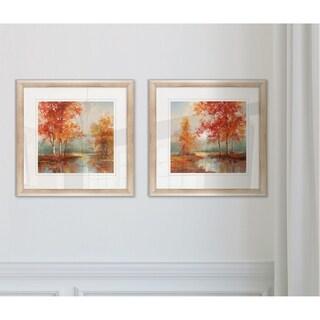 Autumns Grace -2 Piece Set - 16 x 16