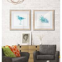 Coastal Wash -2 Piece Set - 16 x 16