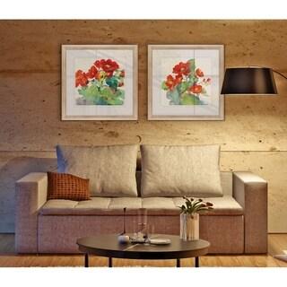 Begonia -2 Piece Set - 16 x 16