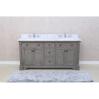 """Stella 73"""" Double Sink Bathroom Vanity Set"""