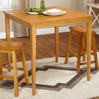 Simple Living Belfast Dining Table - Honey - N/A