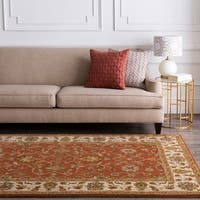 Camelot Collection Wool Runner Area Rug - 3' x 12'