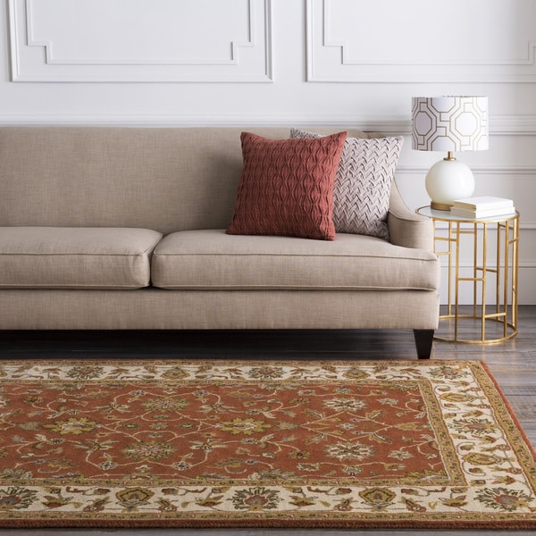 Hand-tufted Camelot Collection Wool Rug (8' x 11')