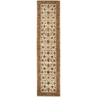 Hand-tufted Camelot Collection Wool Area Rug - 3' x 12' Runner