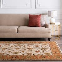 Hand-tufted Camelot Collection Wool Area Rug (5' x 8')