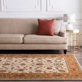 Hand-tufted Camelot Beige Wool Rug (6' x 9')