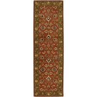 Hand-Tufted Camelot Collection Oriental Wool Area Rug (2'6 x 8')