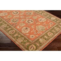 Hand-Tufted Camelot Collection Oriental Wool Area Rug - 2'6 x 8'