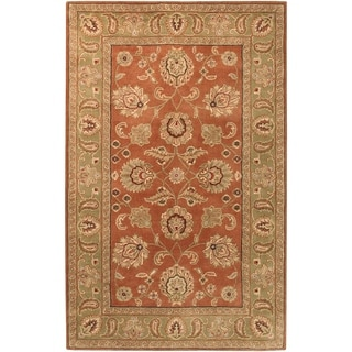 Hand-tufted Camelot Collection Wool Rug (6' x 9')