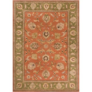 Hand-Tufted Camelot Collection Wool Area Rug (8' x 11')