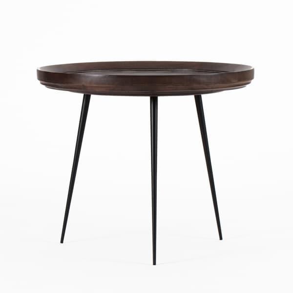 "Girona Round Side Table Large - 20.4""x20.5""x17.5"""