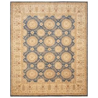 Handmade One-of-a-Kind Vegetable Dye Khotan Wool Rug (Afghanistan) - 8' x 9'9