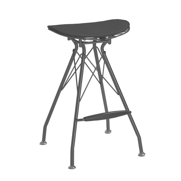 Shop Xavier Black Wire Barstool 29 Inch Set Of 2