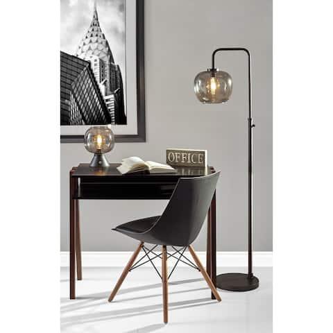 Carbon Loft Wiig 59-inch Matte Black Floor Lamp