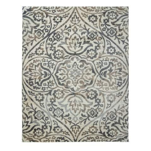 "Drexel Heritage LaScala Bader Shaila Bone Area Rug (7'10"" x 10') by Gertmenian - 7'10 x 10'"