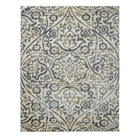 """Drexel Heritage LaScala Bader Shaila Bone Area Rug (6'6"""" x 9'6"""") by Gertmenian"""