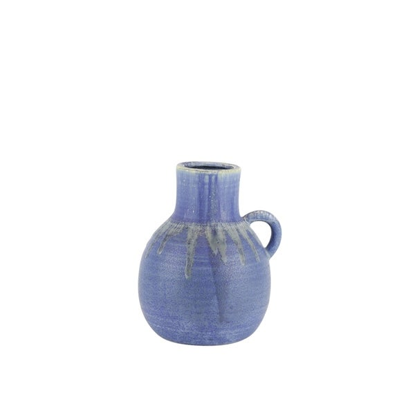 Shop Jug Shape Decorative Ceramic Vase With Dripping Pattern Small