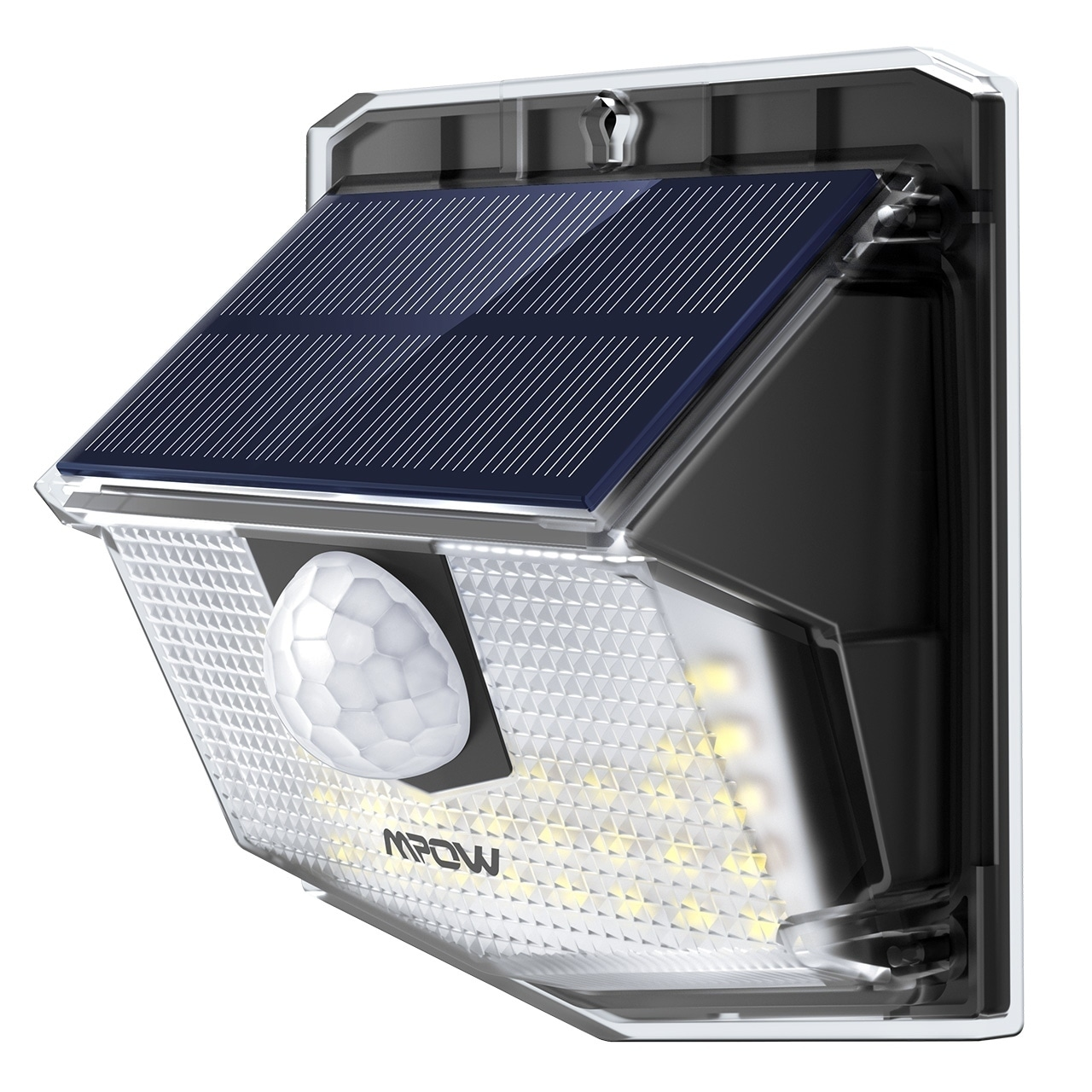 Mpow 30 Led Solar Lights Outdoor Motion Sensor With 19 5 High Efficient Panel