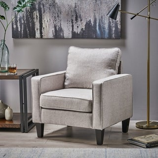 Link to Beeman Contemporary Fabric Club Chair by Christopher Knight Home Similar Items in Living Room Chairs