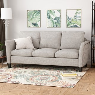 Clostermen Traditional Fabric Sofa by Christopher Knight Home