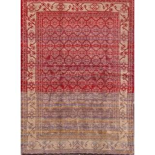 "Handmade Woolen Traditional Modern Persian Area Rug Tribal Carpet - 6'11"" x 4'10"""
