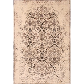 """Sultanabad Wool Mahal Hand Knotted Floral Area Rug Persian - 9'6"""" x 6'6"""""""