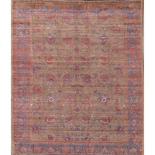 """Tabriz Persian Traditional Hand Knotted Area Rug Tribal Carpet - 9'3"""" x 7'11"""""""