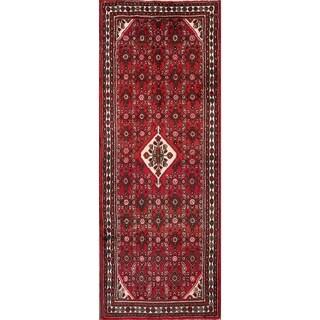 "Hand Made Wool Traditional Hamadan Persian Tribal Rug - 9'8"" x 3'8"" Runner"