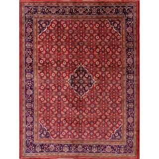 "Traditional Mahal Persian Hand Made Area Rug Geometric Carpet - 13'0"" x 9'10"""