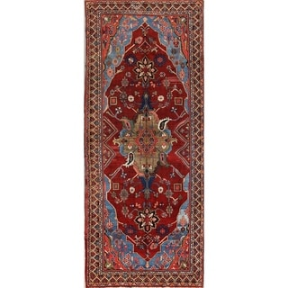 """Antique Traditional Sultanabad Ziegler Persian Floral Area Rug - 5'0"""" x 12'0"""""""