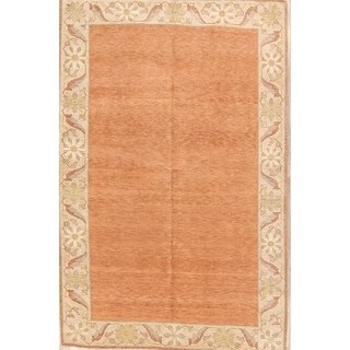 "Hand Knotted Peshawar Traditional Tabriz Oriental Floral Area Rug - 8'7"" x 5'8"""