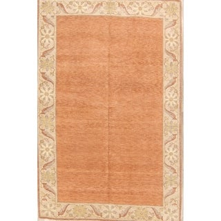 """Hand Knotted Peshawar Traditional Tabriz Oriental Floral Area Rug - 8'7"""" x 5'8"""""""