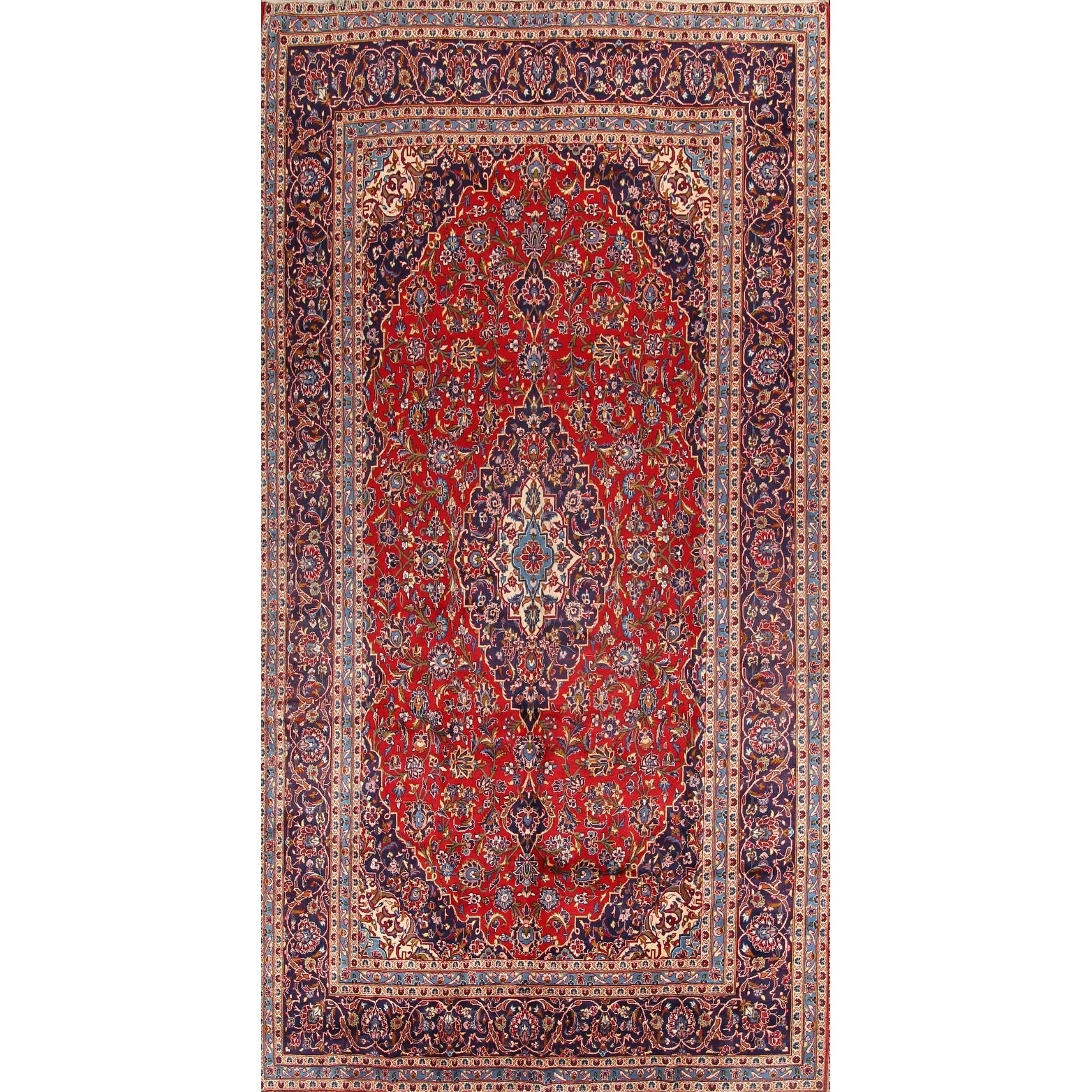 Shop Classical Kashan Medallion Hand Knotted Persian Wool: Hand Knotted Rugs Diy