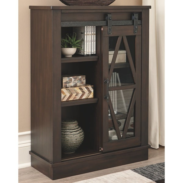 The Gray Barn Trout Brook Brown Accent Cabinet