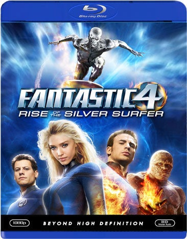 Fantastic Four 2: Rise Of the Silver Surfer (Blu-ray Disc)