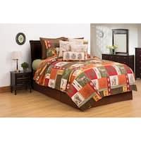 Keaton Forest Lodge Cotton Quilt Set
