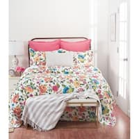 Summer Floral Cotton Quilt Set