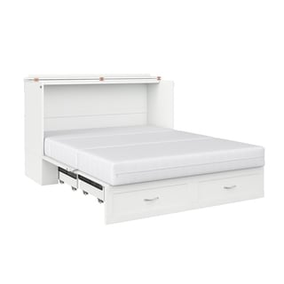 Shop Atlantic Furniture Madison Murphy Queen Size Bed