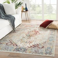 The Curated Nomad Parsons Indoor/ Outdoor Medallion Multicolor Area Rug