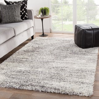 Leland Abstract Ivory/ Light Gray Area Rug