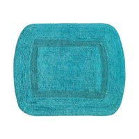 Tufted Fashion Reversible Cotton Bath Rug - 20x27