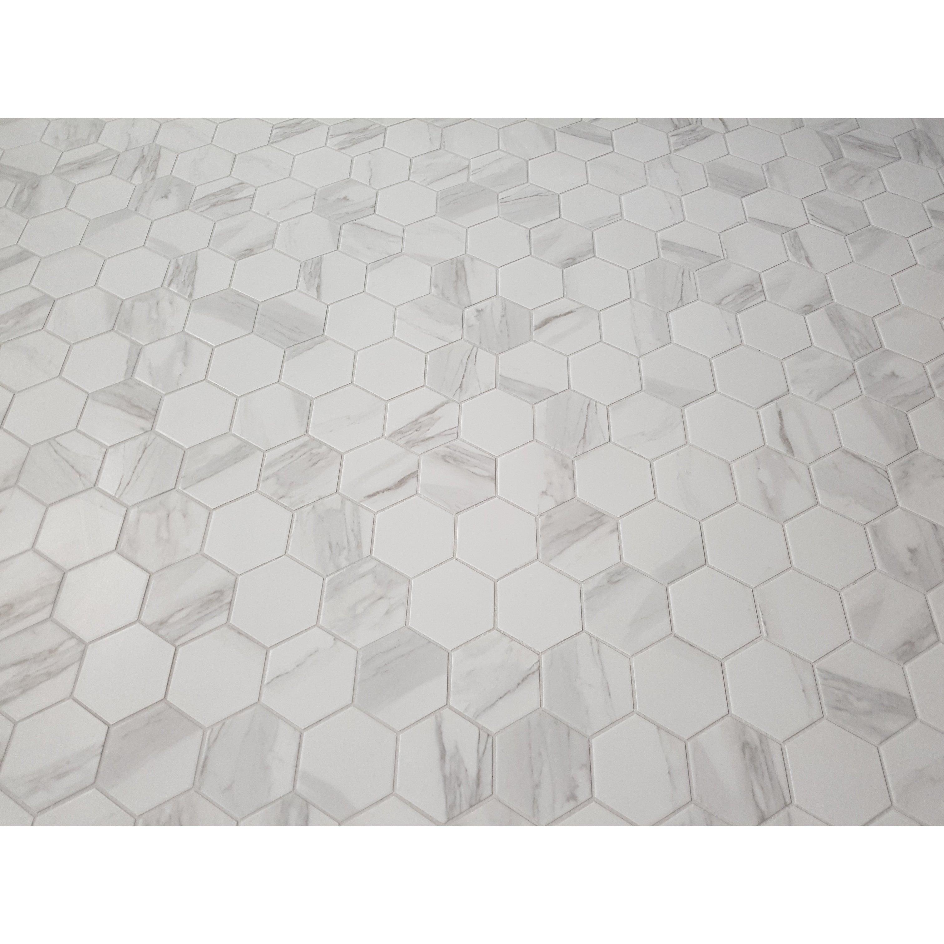 Barcelona Hexagon Glazed Porcelain