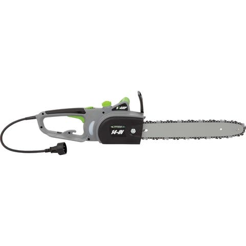 Earthwise 14- Inch Corded Chain Saw - Black/Green/Silver