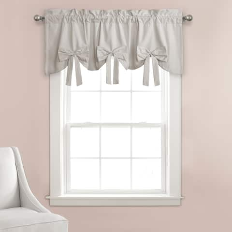 Porch & Den Kino Springs Bow Window Curtain Valance