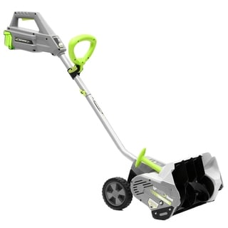 Earthwise 16- Inch Lithium 40 Volt Super Snow Thrower - Black/Grey/Green