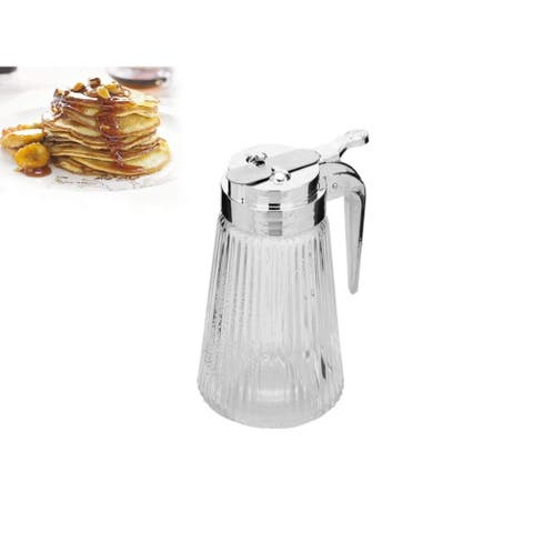 Multipurpose Honey/Cream/Sugar/Syrup Dispensers with Steel Plated Spout