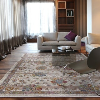 The Curated Nomad Parkside Distressed Traditional Area Rug